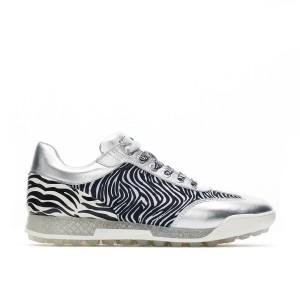 New Ladies Designer Italian Zebra Golf Shoes.