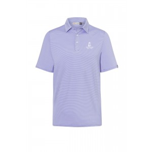 KJUS Men's Mini Stripe Soren Polo
