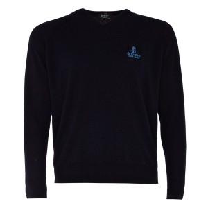 Merino Wool Vee Neck Sweater